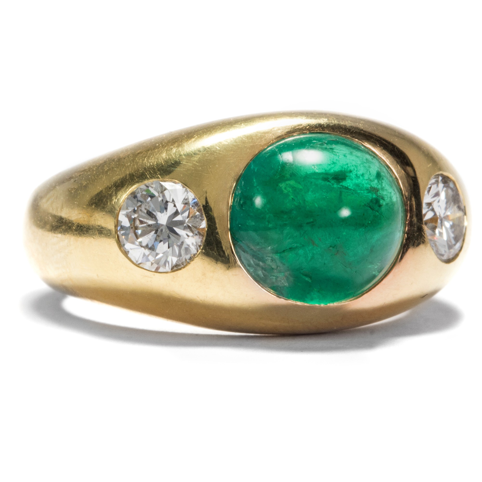 K Jade Gold Ring